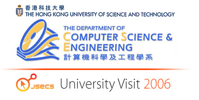 Visit to the Hong Kong University of Science and Technology
