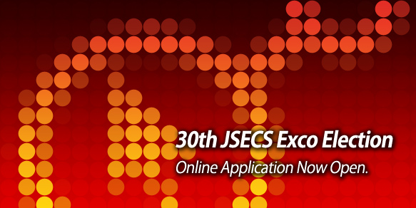 Application for 30th JSECS Executive Committee Election