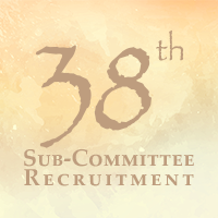 38th Sub-Committee Recruitment